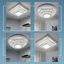 led kristall glas decken leuchte wohnzimmer leuchte le