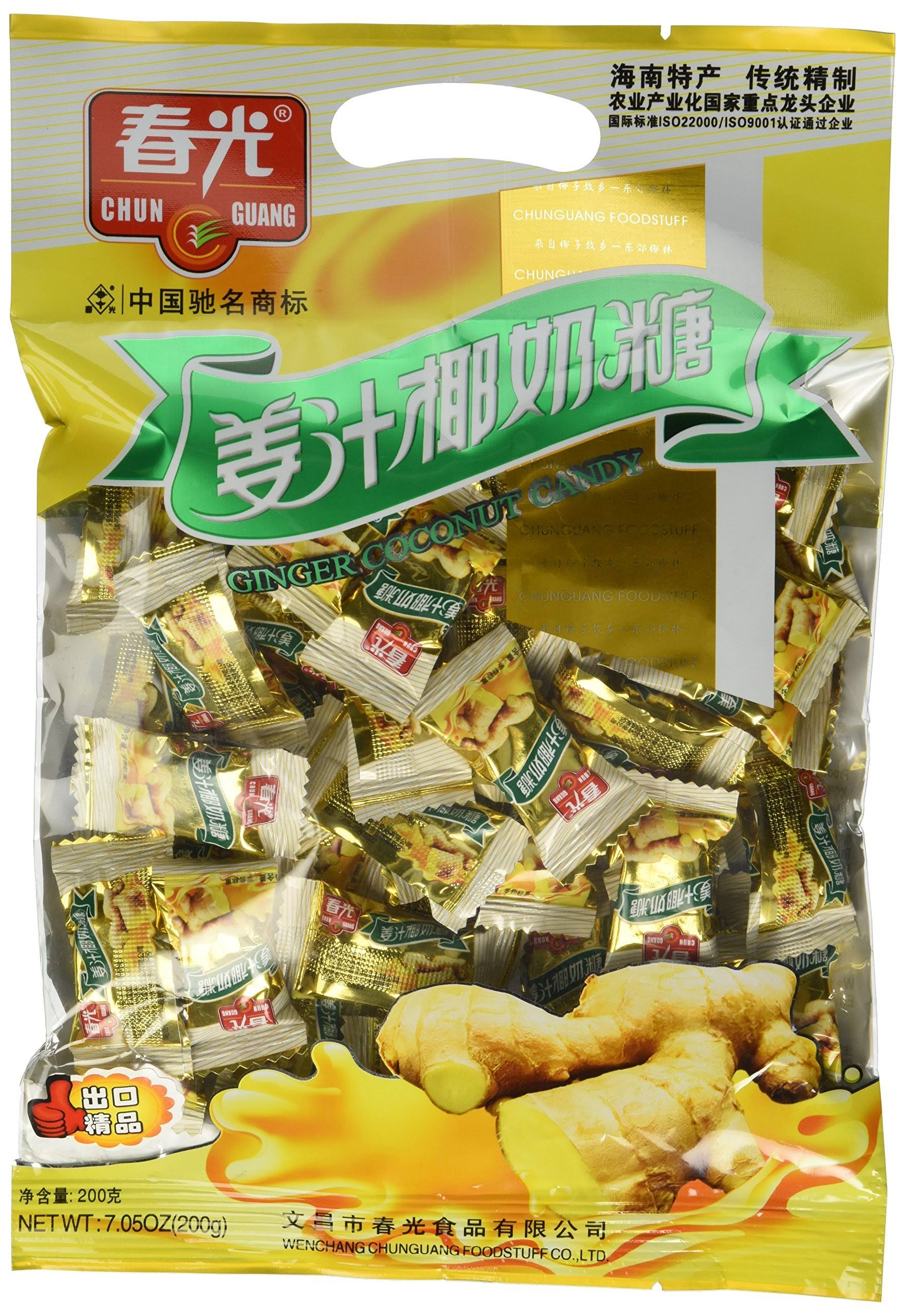 Chun Guang Ginger Coconut Candy