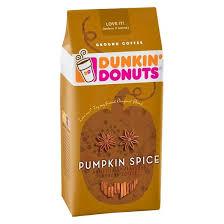 Pumpkin Spice Latte Dunkin Donuts Ingredients by Dunkin U0027 Donuts Pumpkin Spice Ground Coffee 11oz Target