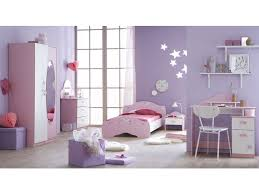 chambre enfant violet lit 90x190 cm papillon vente de lit enfant conforama