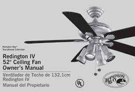 Ceiling Fan Model Ac 552 Manual by Hampton Bay Ceiling Fan Light Kit Instructions Ceiling Designs