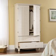 Amazon.com: Sauder 158036 Antiqued White Finish Harbor View ... Bedroom Fabulous Wardrobes For Sale Armoire Wardrobe Amazoncom Southern Enterprises Jewelry Classic Mahogany Closet Aminitasatoricom Fniture Fancy Organizer Idea Powell Mission Oak Hayneedle Mirrored Cabinet W Stand Mirror Rings Necklaces U Shaped White Stained Wooden Walk Master Design And More Armoires Clothes Large Closets Computer W Pullout Drawer In Cherry Finish My Real