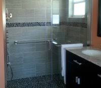 pebble tile shower floor reviews river rock problems is to