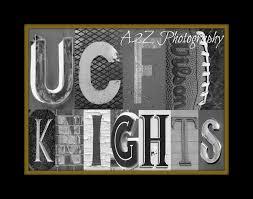 UCF Knights Print 2000 Via Etsy