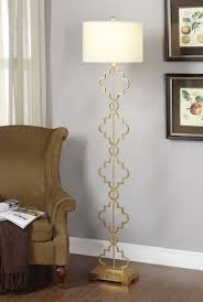 Gold Moroccan Floor Lamp Look 4 Less and Steals and Deals