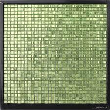 gm16 10 waterproof square green glass mosaic kitchen wall