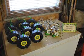 100 Monster Truck Birthday Party Supplies John Deere Tractor Rolling SinSweets After Dark