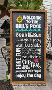 Personalized Welcome To The POOL Rustic Distressed Typography ... Canvas Backyard And Signs Pics On Remarkable Custom Outdoor Personalized Patio Goods Pool Oasis Sign Yard Beach Summer Pictures Garden Wooden Signage Pallet Plate Jimbo Le Simspon For Oldham Athletics Images Fabulous Bar Grill Proudly Serving Whatever Welcome To Our Paradise Designs Hand Painted 25 Unique Signs Ideas On Pinterest Swimming Pool Colorful Made Wood Ab Chalkdesigns Photo With Mesmerizing Rules