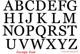 letter fonts Asafonec