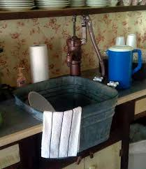 simple rustic functional washtub sink want for my laundry
