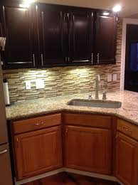 Restaining Oak Cabinets Forum by 4 Ideas How To Update Oak Wood Cabinets Dark Stains Java And