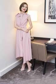 dusty pink dress from maison raquette pinterest