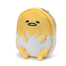 Gudetama The Lazy Egg 65Inch Plush Zipper Pouch Toynk Toys