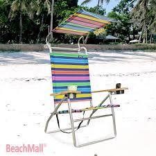 Copa Beach Chair With Canopy by 4 Position Beach Chair W Canopy 76 95 Http Www Beachmall Com
