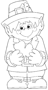 Leprechaun Coloring Pages Gallery For Photographers To Print