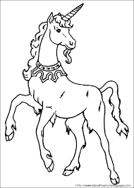 Unicorn Coloring Pages Free For Kids
