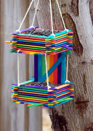 Popsicle Sticks Diy Bird Feeder Ideas For Kids0121