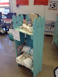 Loved Your Idea And Did One Of My Own To Show The Rohnert Park Home Depot Do It Herself Ladiestricked Out For A Beach Y Powder Room