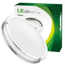 dimmable 26w 16 inch flush mount led kitchen ceiling lights 5000k