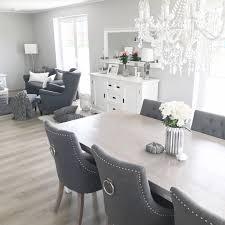 instagram wohn emotion landhaus esszimmer modern grau weiß