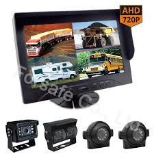 100 Truck Camera System China 9Inch HeavyDuty BusVan Car Rearview