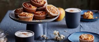 haferflocken apfel karotten muffins