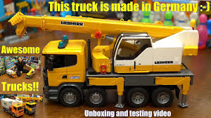 100 Bruder Trucks Youtube Top Toy Crane Truck Ratings Truck Reviews News Truck