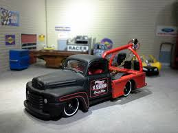 HOT WHEELS'41 FORD F1☆El Segundo Speed Shop ☆1:64 Scale Rat Rod ...