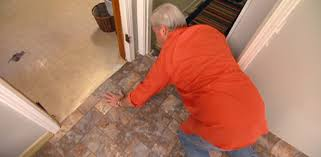 Laying Tile Over Linoleum Concrete by How To Install Vinyl Flooring Without Using Adhesive Today U0027s