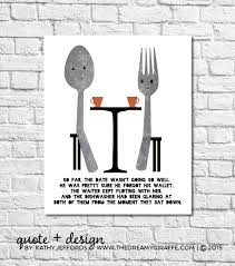 Fork And Spoon Wall Art Kitchen Decor Funny