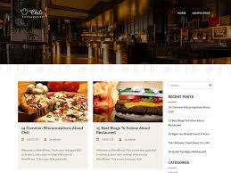 100 Food Truck Websites Free WordPress Themes 40 For Restaurants Cafes Blogs