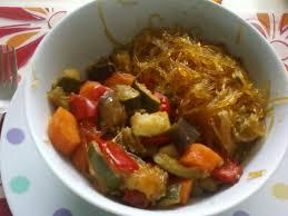cuisiner legumes vermicelles de soja et ses petits légumes autres plats cuisinés