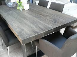Grey Wood Dining Table Regarding Great Tables Inspiring Decor 1