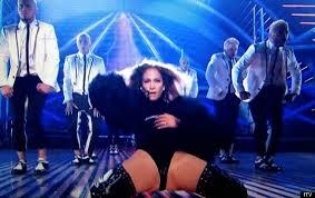 Britain s Got Talent Jennifer Lopez Nearly Has Wardrobe
