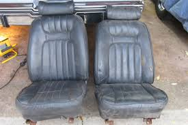 Can Anyone Identify These Bucket Seats? | GBodyForum - '78-'88 ... Covercraft F150 Front Seat Covers Chartt Pair For Buckets 200914 52018 Toyota Tacoma Pair Bucket Durafit Sale 2x Sparco Seats Harnses Driftworks Forum Dog Suvs Car Trucks Cesspreneursorg 2018 Ford Transit Connect Titanium Passenger Van Wagon Model Pu Leather Seatfull Set For With Headrests Ebay Camouflage Cover In Pink Microsuede W Universal Fit Preassembled Parts Unlimited Prepping A Cab And Mounting Custom Hot Rod Network 1977 620 Options Bodyinterior Ratsun Forums 2 X R100 Recling Racing Sport Chevy Truck Elegant