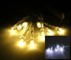 led light chain battery warmweiss cold white interior lights