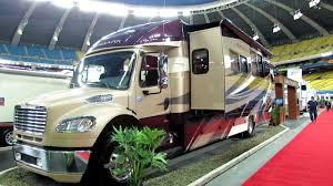 2012 Jayco Embark QX390 MotorHome Exterior And Interior At Montreal Recreational Vehicle Show