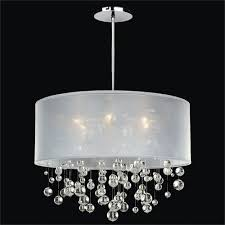 Brilliant Drum Pendant Chandelier Silhouette Crystal Six Light Pertaining To Amazing Property Shade Plan Home Dining Room