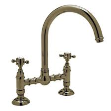 Rohl Unlacquered Brass Faucet by Articulating Kitchen Faucet Geyser Brushed Nickel Articulating