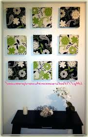 Well Known Diy Framed Fabric Wall Art Inside Decoration Arts Frames