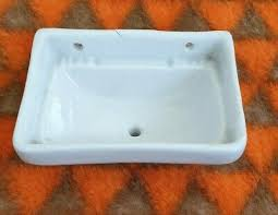 antik puppenstube puppenküche waschbecken aus porzellan bad