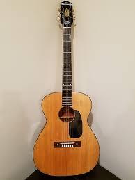 Harmony H 162 Vintage Acoustic Guitar Relic Road Worn Vintage