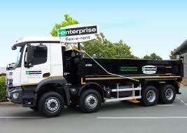 100 Enterprise Commercial Truck Rental Adds Construction Trucks To Rental Fleet Motor