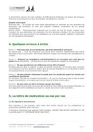 lettre de motivation cabinet de conseil lettre de motivation