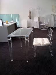 Acrylic Desk Chair On Casters by Articles With Ghost Desk Chair On Wheels Tag Ghost Office Chair