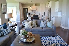 100 Interior Design Transitional Fluff Greatroom Blue White Kitchen Omaha NE