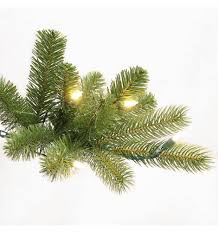 Home Depot Ge Pre Lit Christmas Trees by Ge 7 5 Ft Pre Lit Led Energy Smart Just Cut Colorado Spruce