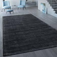 kurzflor teppich einfarbig modern