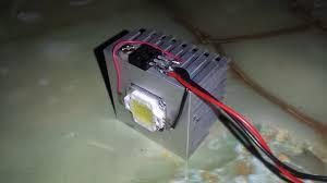 how to make a cheap easy 12v 10w led light at home