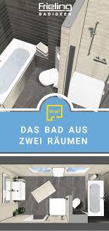 das bad aus zwei räumen 10 qm eck wc bad badezimmer umbau